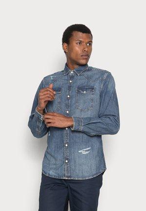 JJISHERIDAN - Camisa - blue denim