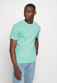 American Eagle - BUTLER TEE EMBROIDERY - Basic T-shirt - mint - 0