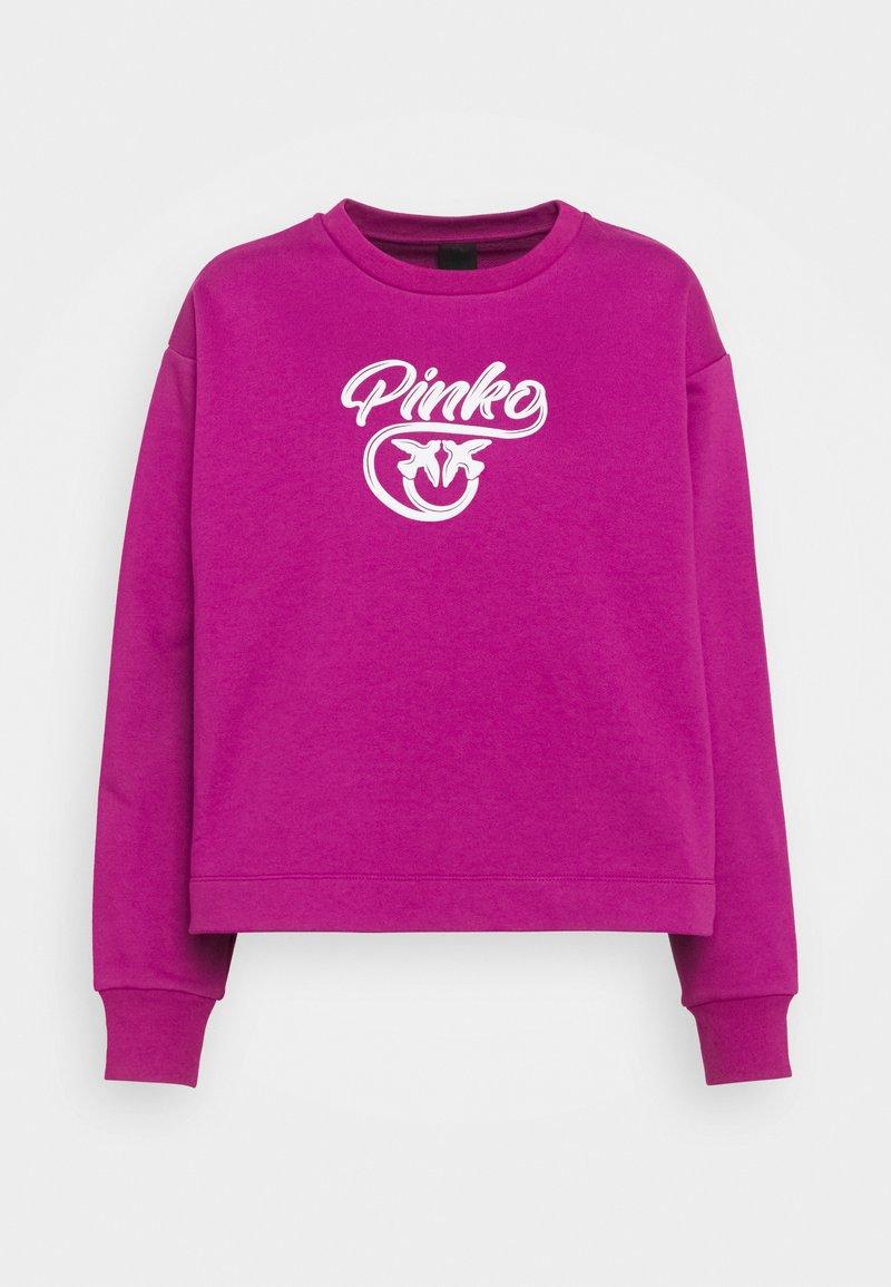 Pinko - BUFFY FELPA - Sweatshirt - ciclamino