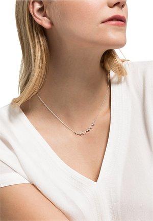 DAMEN-KETTE 925ER SILBER 1 ZIRKONIA - Necklace - silber