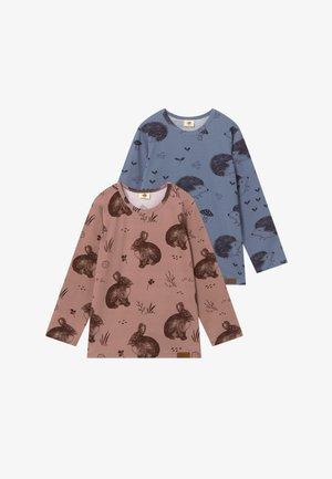 2 PACK - T-shirt à manches longues - pink