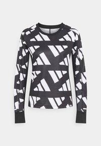 CELEB - Sports shirt - black/white