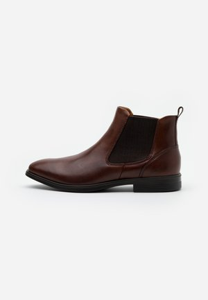 MELBOURNE - Bottines - cognac