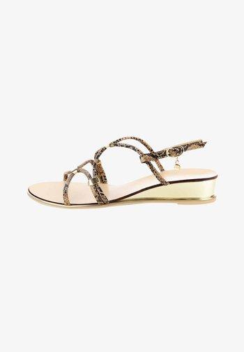 NARNI - Sandals - brown
