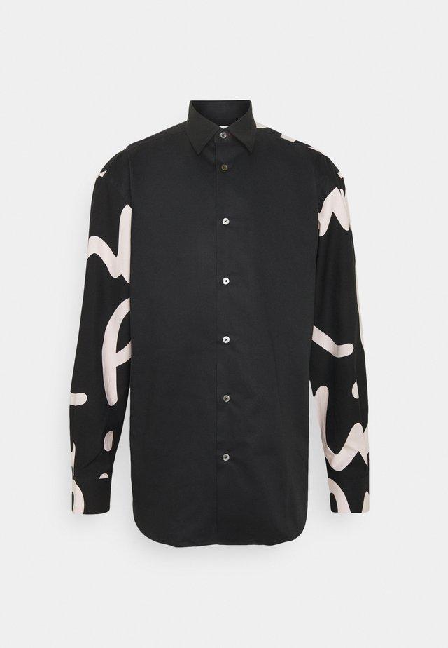GENTS MODERN - Camicia - black
