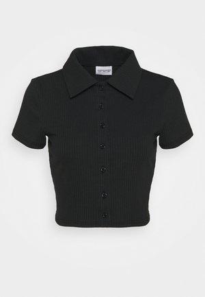 GLAMOROUS CARE CROP - T-shirts - black