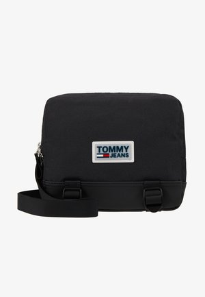 URBAN VARSITY BODY BAG - Bum bag - black