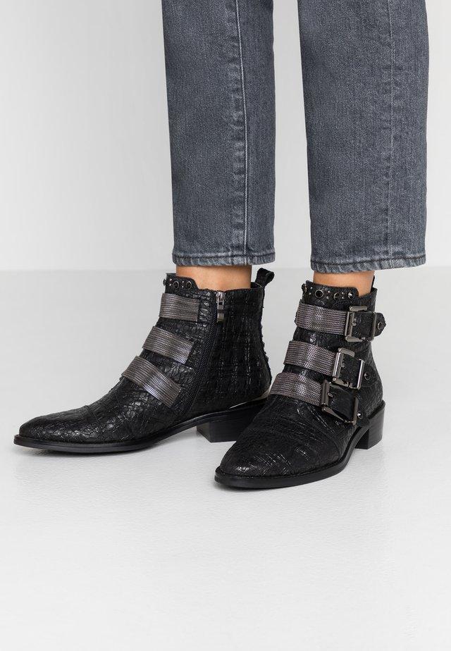 Boots à talons - focus black
