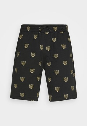 JENSONLEO - Shorts - black/gold