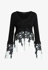 Apart - 2IN1 - Pullover - schwarz - 5