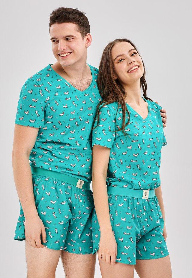 Pyjama - turquoise