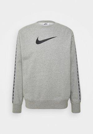 REPEAT CREW - Sweatshirt - grey heather/black
