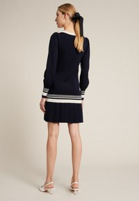 Luisa Spagnoli - Jumper dress - blu/panna - 1