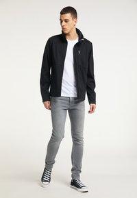 TUFFSKULL - Zip-up hoodie - schwarz - 1