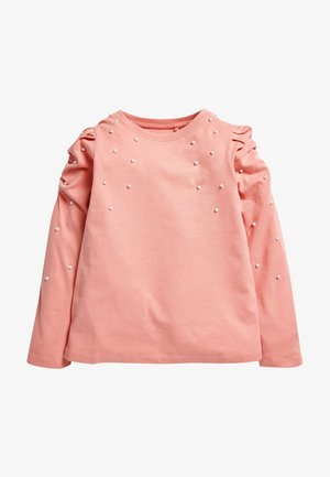 PEARL EFFECT PUFF  - Long sleeved top - pink