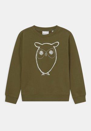 LOTUS OWL VEGAN - Sweater - capulet olive