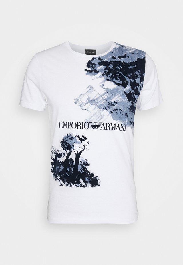 T-shirt z nadrukiem - bianco