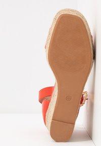 Anna Field - High heeled sandals - burnt orange - 6