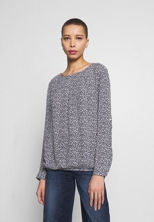 Blouse - offwhite/navy