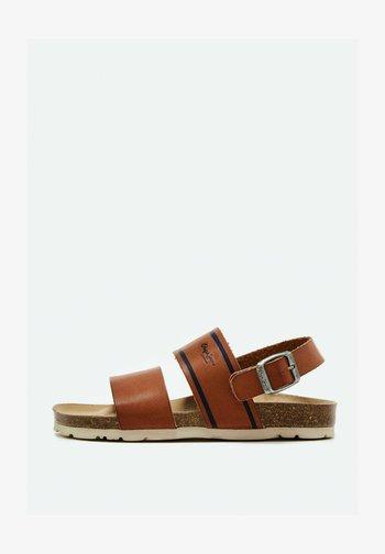 BIO - Sandals - tabaco
