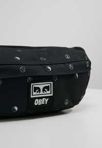 Obey Clothing - DROP OUT SLING PACK - Bum bag - symbol black - 7