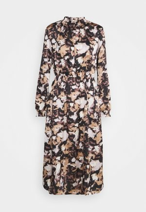 VIMULLA BLUME MIDI DRESS - Vestito estivo - simply taupe