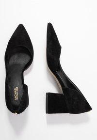 MICHAEL Michael Kors - DIXON  - Classic heels - black - 3
