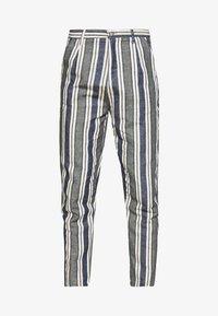 PANTS - Tygbyxor - blue