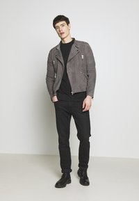 Serge Pariente - GLADATOR - Leather jacket - grey - 1