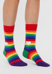Natural Vibes - Socks - red - 0