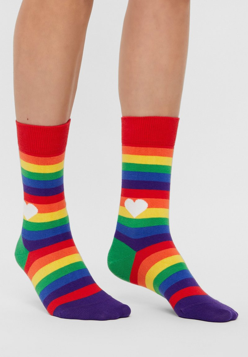 Natural Vibes - Socks - red