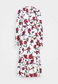 Fabienne Chapot - COCO DRESS - Maxi-jurk - cream white/parrot - 4