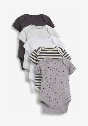 5 PACK  - Body - black/off-white/grey