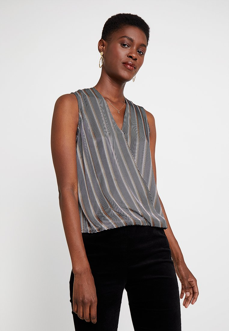 someday. - ZUKO STRIPE - Blouse - bold blue
