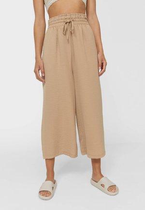 FLIESSENDE - Kalhoty - beige