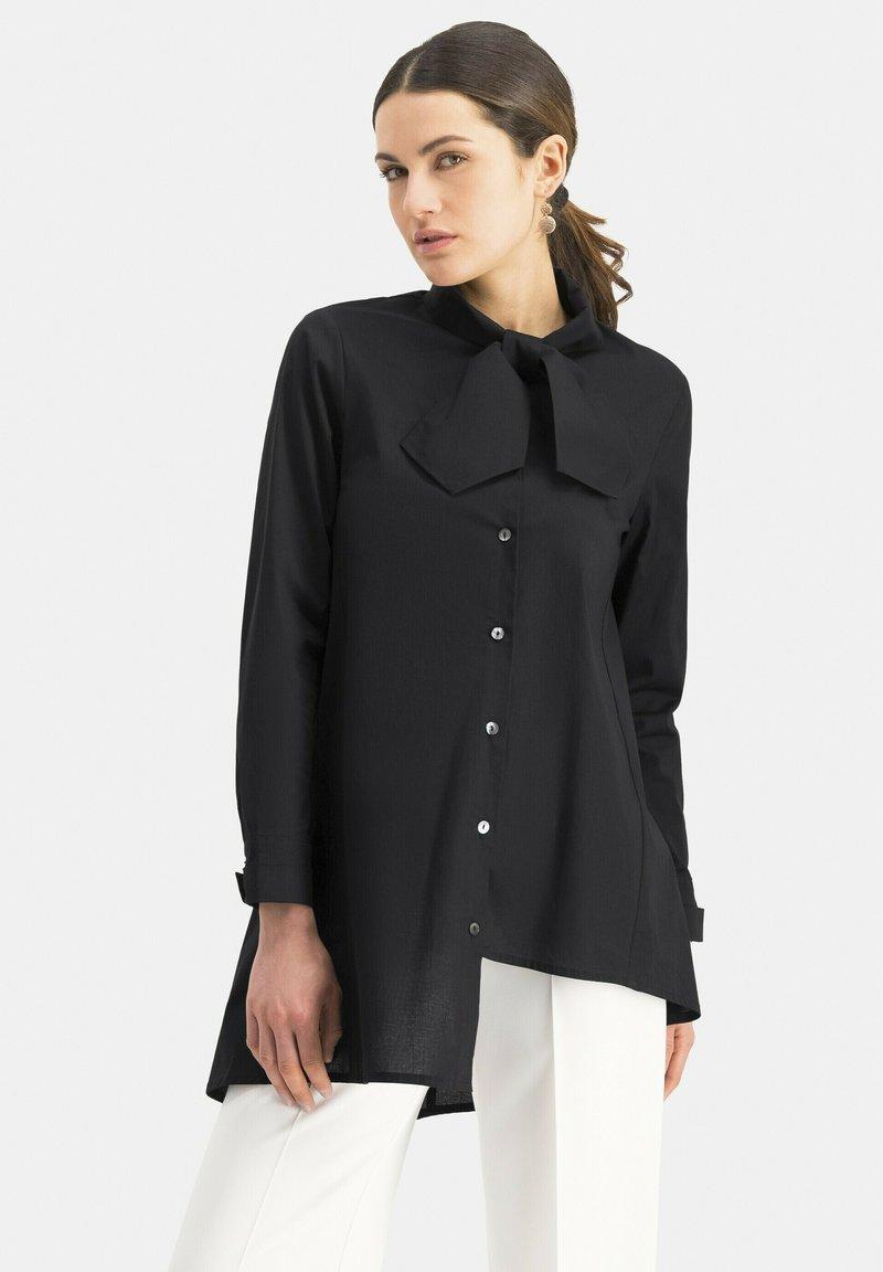 Nicowa - NIBOWA - Button-down blouse - schwarz