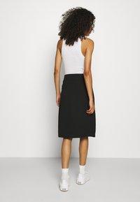 Zign - Wrap skirt - black - 2