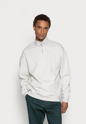 JORBRINK  - Sweatshirt - white melange/fit loose