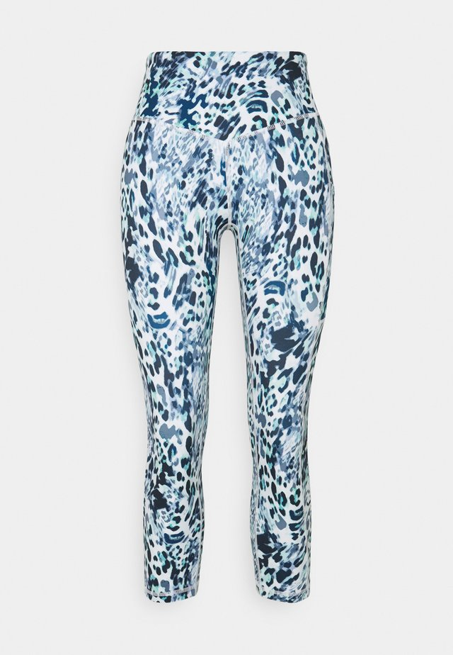 TURN THE TIDE LEGGING - Punčochy - blue