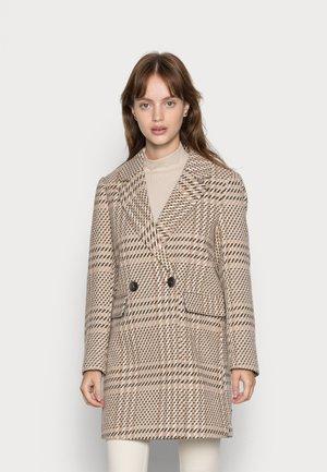 ONLNEWSELENA LIFE COAT - Classic coat - pumice stone/rubber/cloud dancer