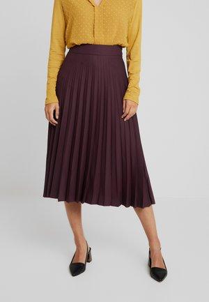 TINA - A-line skirt - prune