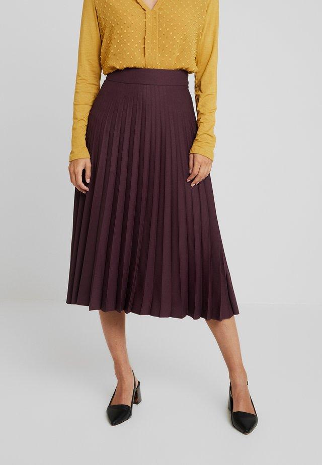 TINA - A-snit nederdel/ A-formede nederdele - prune