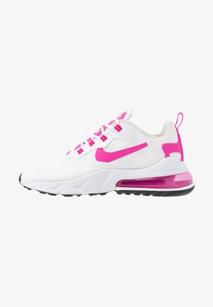 AIR MAX 270 REACT - Sneakers basse - white/fire pink/team orange/black