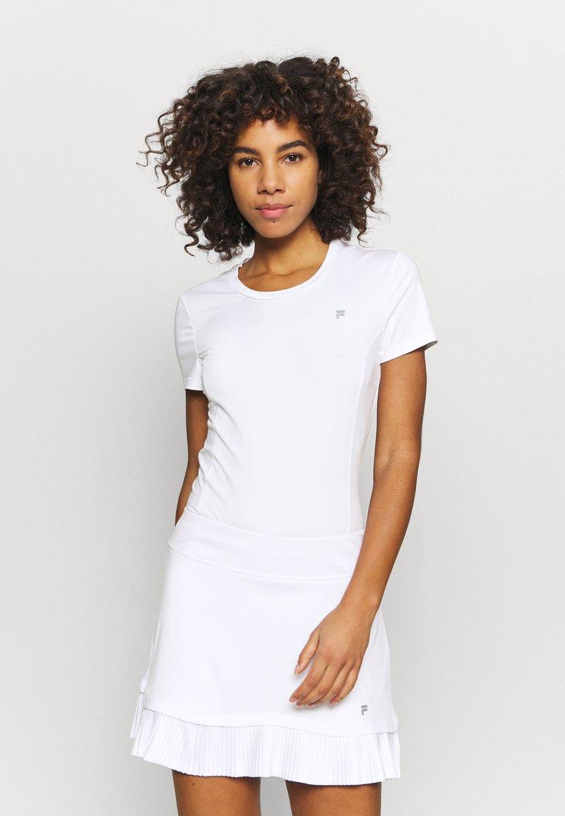 Fila - SOPHIE - Jednoduché triko - white