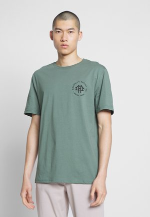 REGULAR LOGO TEE - T-shirt med print - teal