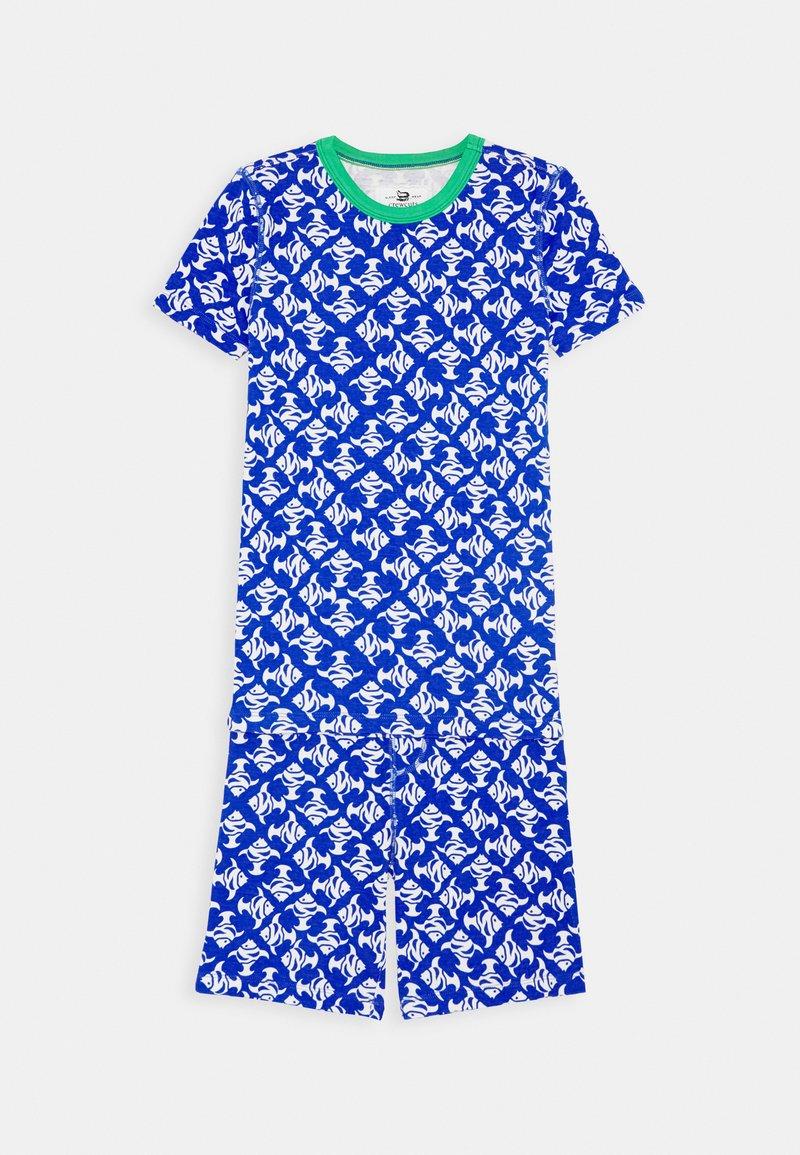 J.CREW - SLEEP SET - Pyjamas - blue/ivory