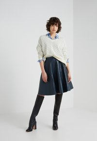 STUDIO ID - TESSA SKIRT - A-Linien-Rock - dark blue - 1