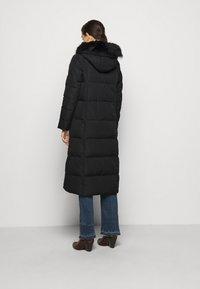 Lauren Ralph Lauren - HAND MAXI COAT - Down coat - black - 3