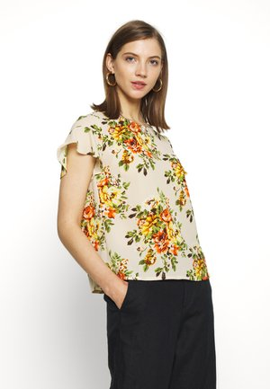 VIULLA LUCY  FLOUNCE  - Blouse - birch/yellow