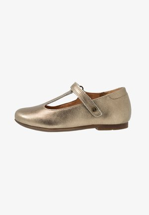 FIONAS T-BAR NARROW FIT - Ballet pumps - gold
